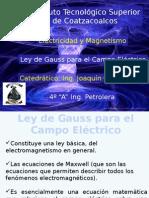 Ley de Gauss Para El Campo Eléctrico