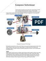 Komponen turbocharger
