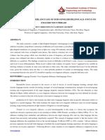 3. Ijll - Analysis of the Interlanguage - Nigeria - Gift Chidi Onwuta - Paid