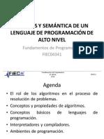 3 Cap1 Sintaxis Semantica Lenguajes Programacion