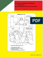 Bahan Kreativitas Sekolah Minggu 5 Juli 2015 PIA St.Theresia Kanak-kanak Yesus Kumetiran