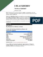 Liberar Blackberry
