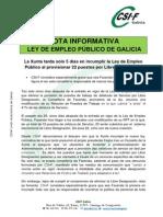 Incumplimiento Ley Libres Designaciones Facenda