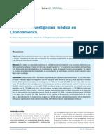 Perfil de la investigación médica en Latinoamérica
