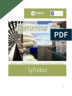 Syllabus Seminario OpenNET [FLACSO-México]