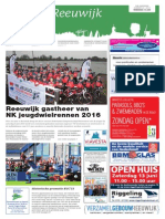 Kijk Op Reeuwijk Wk24 - 10 Juni 2015
