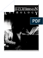 Richard Clayderman the Piano Solos Anthology
