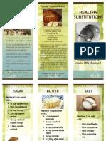 healthy subs brochure