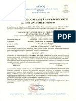 CE-CEM II a-V 42.5R Ro- Reemis -Dec 2013
