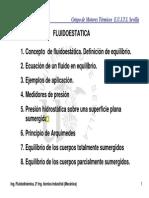 Lección 02 Fluidoestática