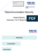 Telecommunication Security
