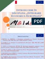 Introducere În Disciplina integrarea economica europeana