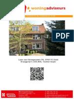 Brochure Laan Van Henegouwen 50 te Zeist