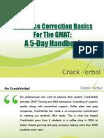 CrackVerbal's GMAT SC Handbook