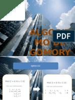 Ejercicio Algoritmo de Gomory