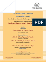 Invitation (10-11 October 2013)_conference on Federalisms and Localisms