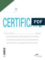 Certificate Ww d 2015