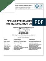 Precommissioning Procedure