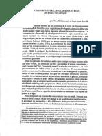 Rapports Associations État