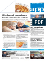 Asbury Park Press front page Wednesday, June 10 2015