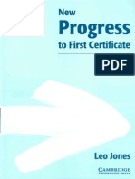 New Progress to First Certificate Workbook