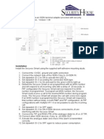 Installation Manual Secuvox UK 1.04