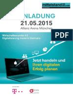 Wirtschaftswunder Einladung 2015