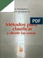 Luis & Ana Shimabuku - Métodos Para Clasificar y Dividir Cosas