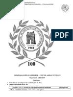 2015 Olimpiada Satelor Locala (Mures) Clasa a v-A Subiecte