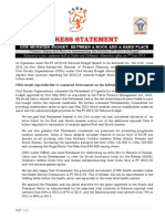CSBAG press statement on Uganda's Ushs24 trillion budget for FY 2015/16