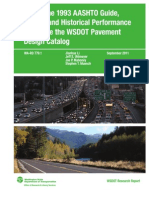 Use of the AASHTO 1993 Guide MEPDG and Historical Performance Pavement Design Caelog