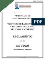 Reglamento Sst-semi- Presencial - Semipresencial