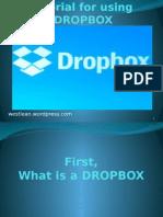 Tutorial for using DROPBOX.pptx