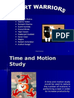 Time and Motion Ppt