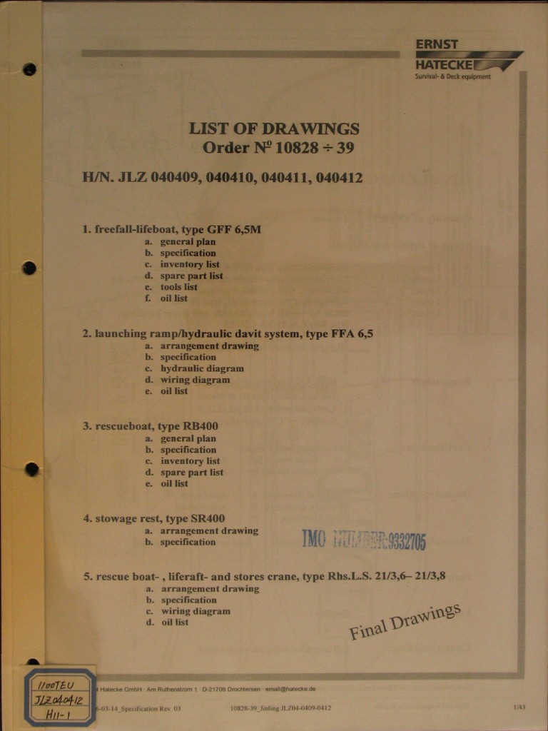 General Boat Wiring Diagram Library H11 1 Life Rescue Crane Machine Pipe Fluid Conveyance