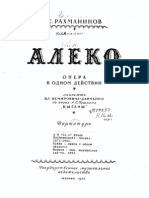 Rachmaninov Aleko
