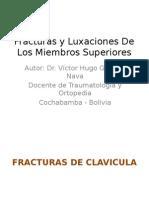 Fracturas y Luxaciones de Los Miembros Superiores