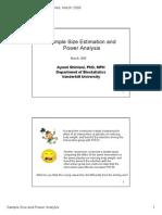 Power Analysis PDF