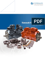 HRD K3V K5V Series Parts Diagrams