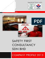 Safety First Consultancy Sdn Bhd (Company Profile)