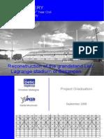 Reconstruction de La Tribune Dhonneur Dun Stade.fr.En
