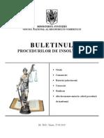 Hecta Viticol, Buletinul Insolvenței