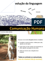 Origem e Evolucao Da Comunicacao Humana