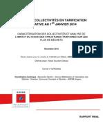 Rapport ADEME sur la tarification incitative