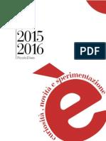 Brochure Piccolo Eliseo 2015-2016