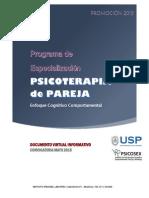 Programa de Especialización Pareja 2015 LIMA