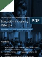 Inclusión Educativa en Contexto de Reforma