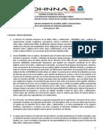 Informe Alternativo PIDCP Redhnna
