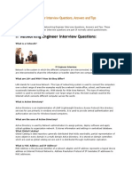 IT Networking Engineer Interview Questions
