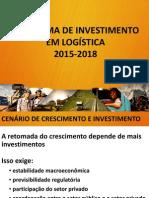 Programa de Investimento em Logística (PIL) 2015-2018